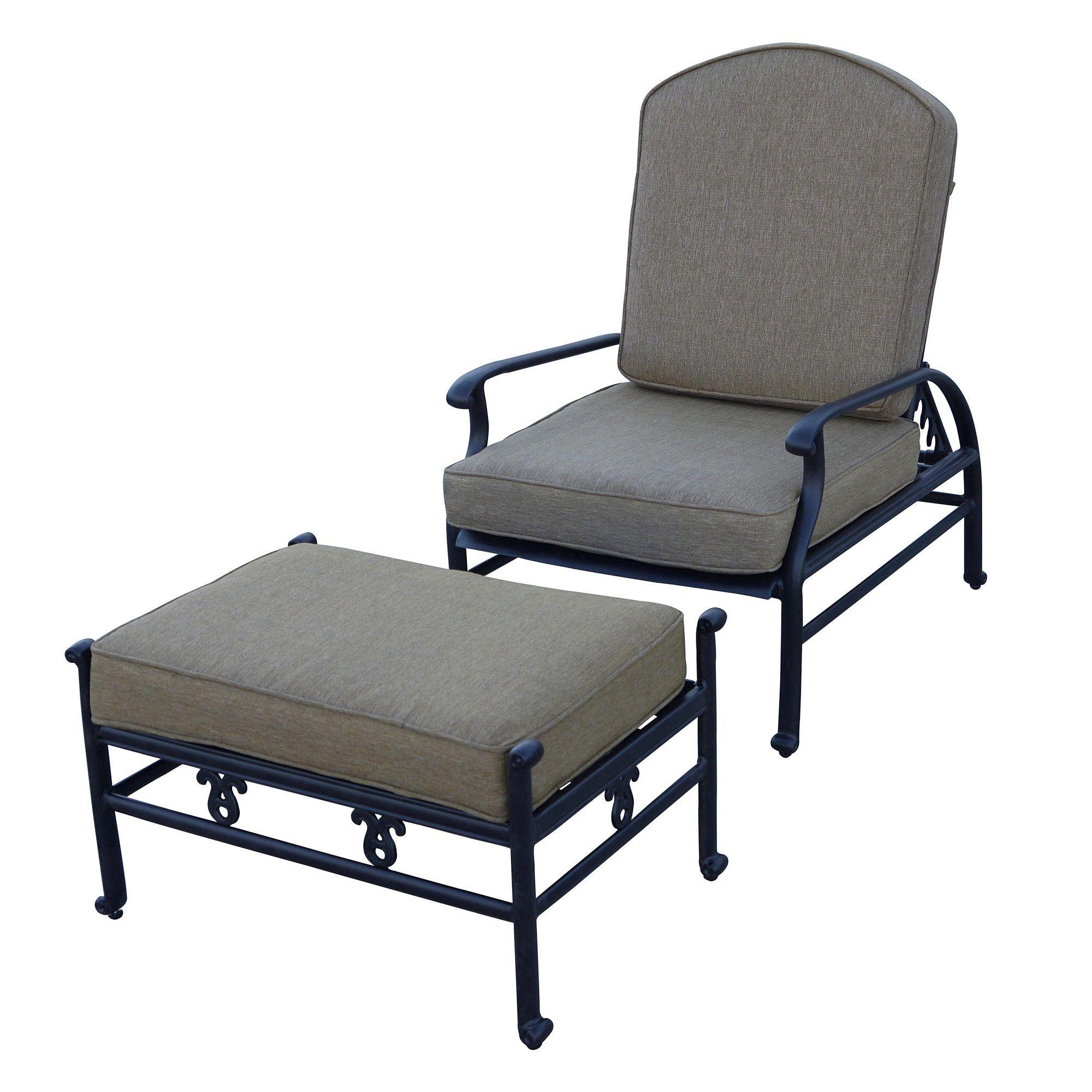 Fabulous Darlee Catalina Cast Aluminum Adjustable Cushioned Club Machost Co Dining Chair Design Ideas Machostcouk