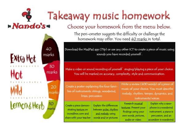 Homework help ks3 music