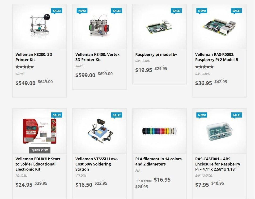 Something we loved from Instagram! Check out our special pricing for #EdExpo2016 - valid 3/9-3/20! (Link in bio) _______________ #velleman #vellemanstore #sale #electronics #3dprinting #raspberrypi #soldering #tech #maker #3dprint #3dprinter #vertex #vertexk8400 #vellemanvertex #vellemank8200 #filament #lcd #led #ledcube by vellemanstore Check us out http://bit.ly/1KyLetq