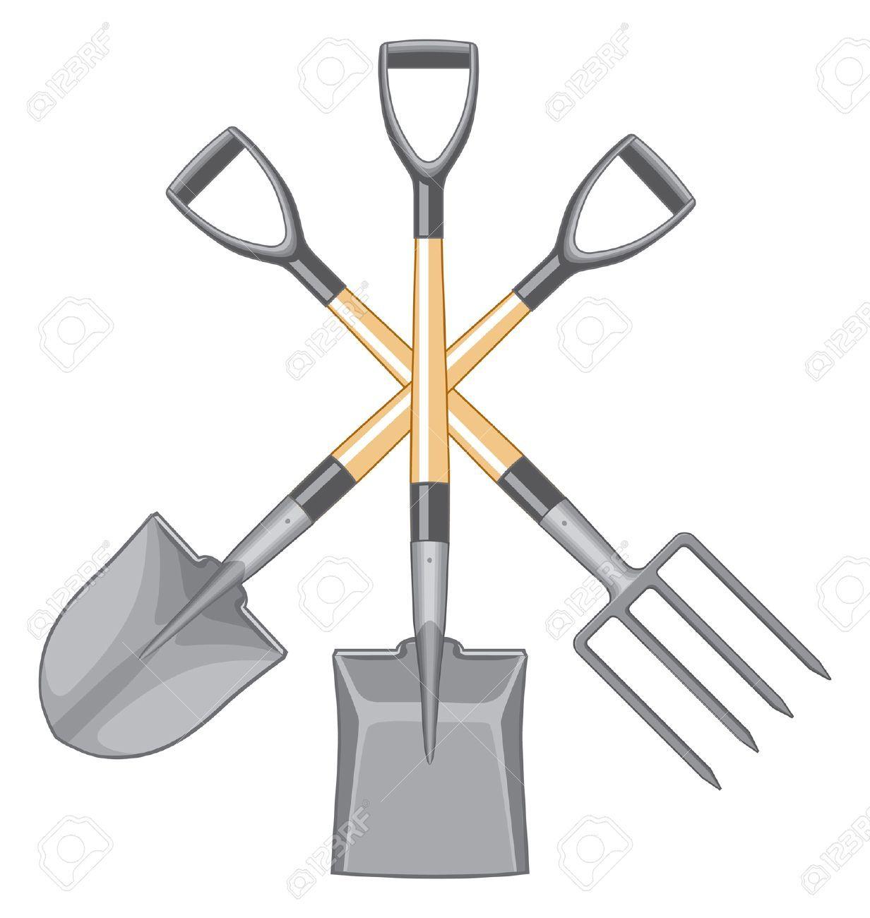 pitchfork garden tool clip art Google Search Garden