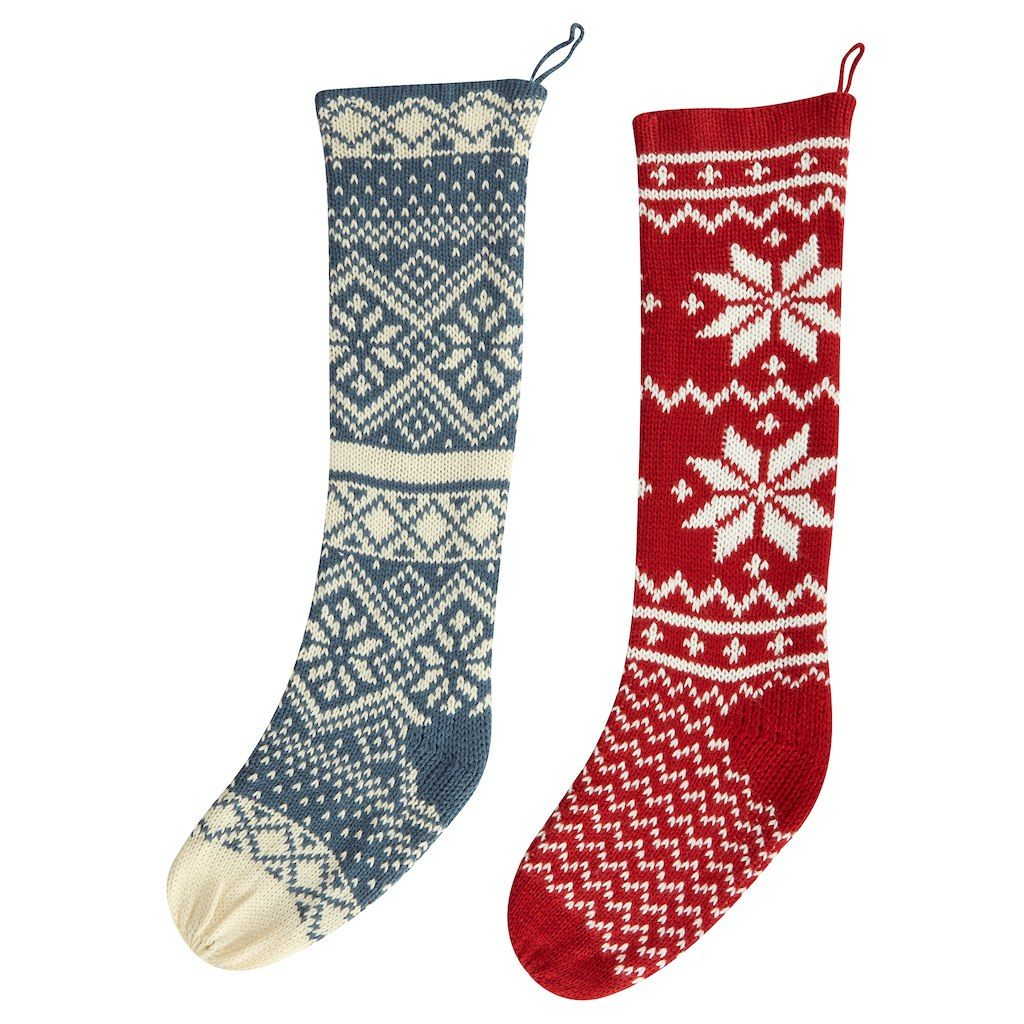 purchase the assorted fair isle stocking by ashland at michaelscom stuff this stocking by ashland with candy toys stationery or ornaments and watch - Michaels Christmas Stockings