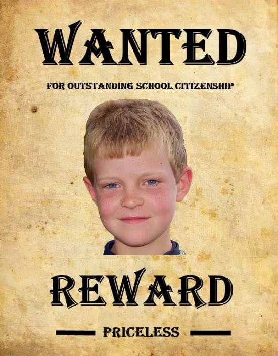 Wanted Poster Activity | School Tech Ideas | Pinterest | Activities ...