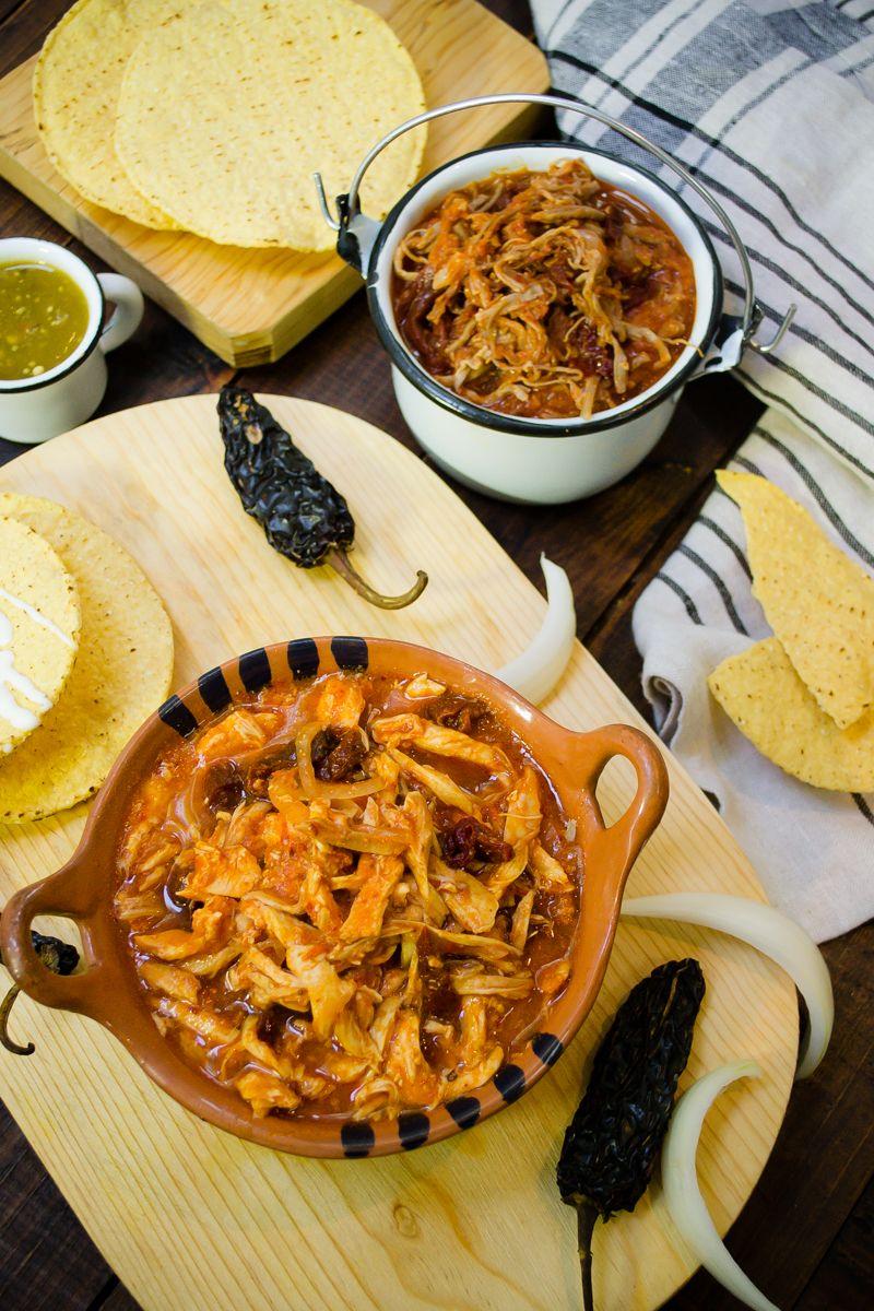 Tinga de pollo  Receta  RECETAS POLLO  Mexican food
