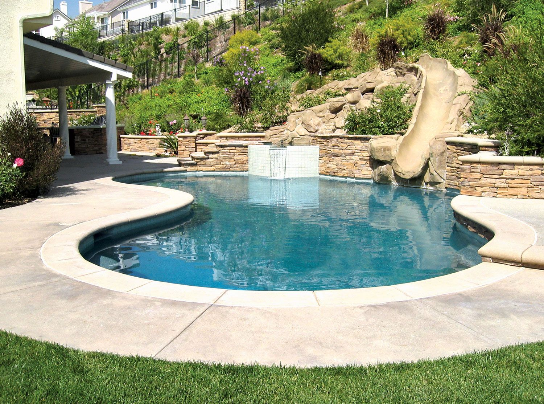 Free Form Pool Ideas Cool swimming pools, Swimming pools