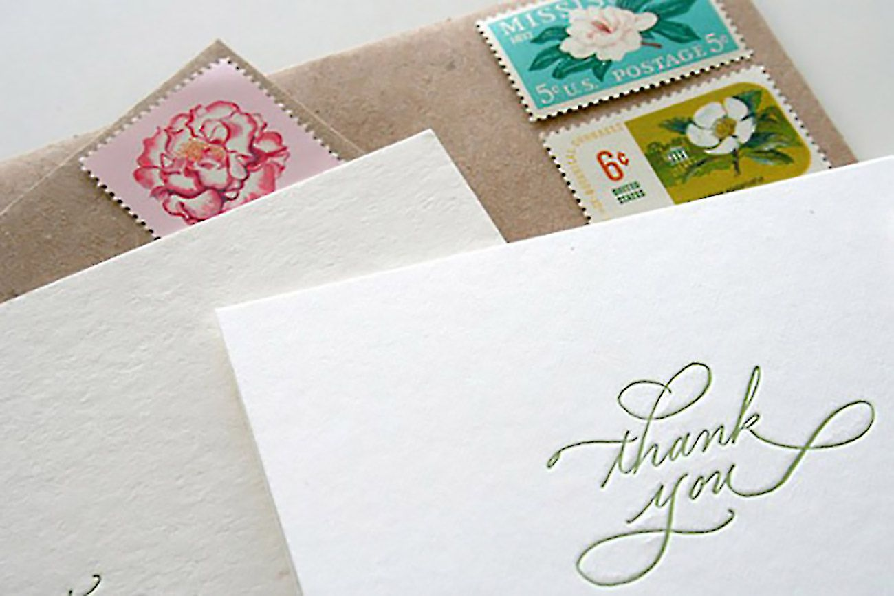 How To Write An Unforgettable ThankYou Note