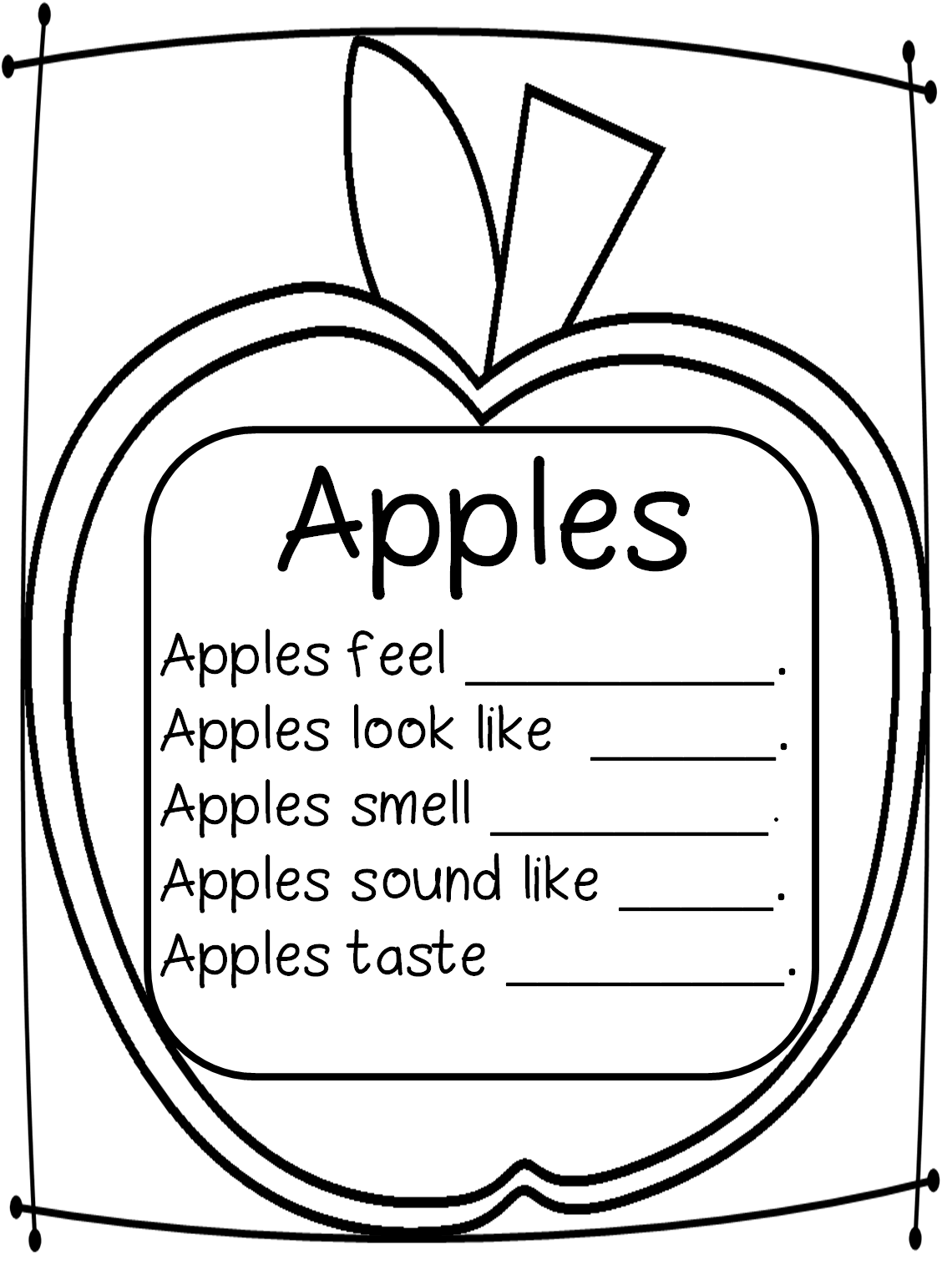 Writing Tools Uppercase Letters And Johnny Appleseed