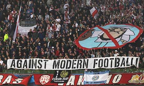 Uefa Fines Ajax Over Fan Banners Critical Of Money At Man City Game City Games Ajax Banner