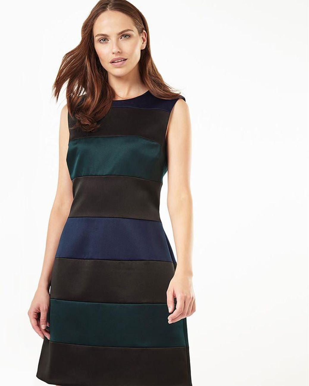 Phase Eight | Multicolor Aleigh Stripe Dress | Lyst