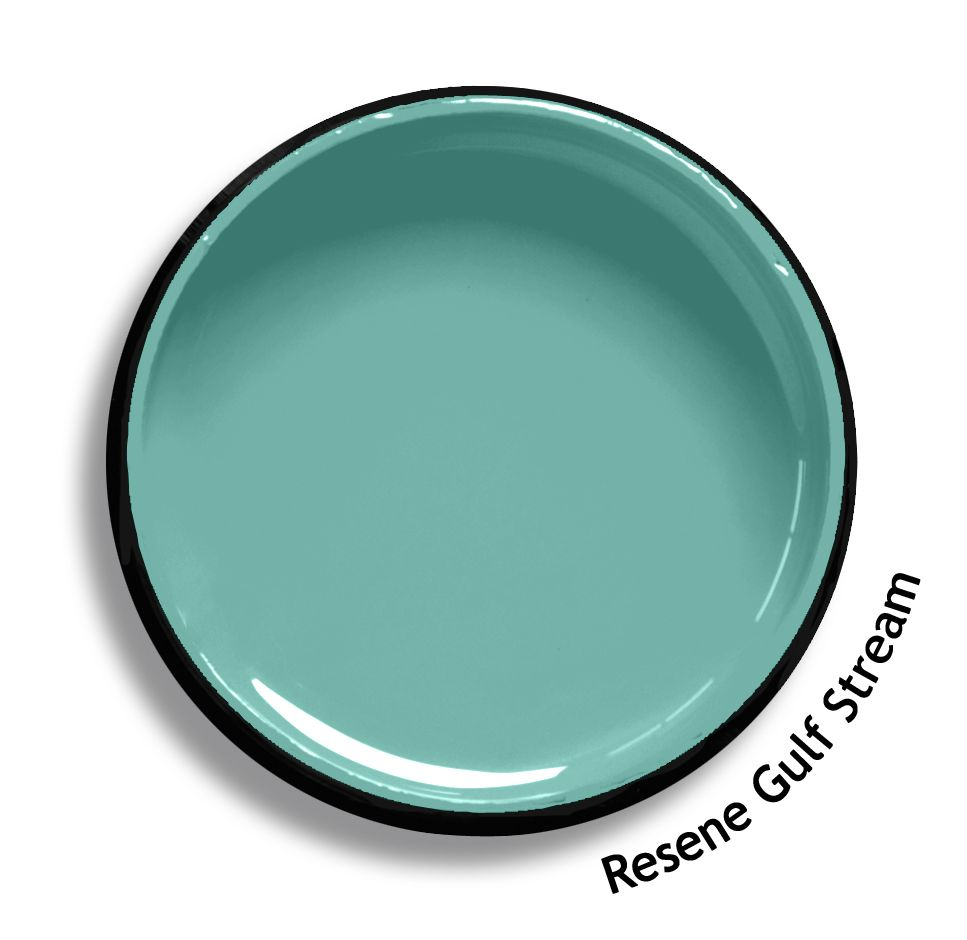 Resene Gulf Stream Is A Warmed Current Of Watery Blue From The Resene Multifinish Colour Collection T Paint Colors For Home Resene Colours Colorful Interiors