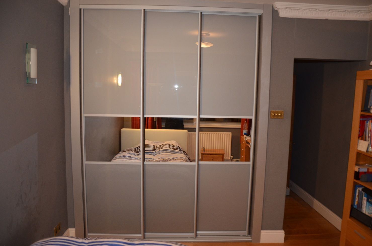 3 sliding doors wardrobe richond skapdrer pinterest sliding 3 sliding doors wardrobe richond vtopaller Images