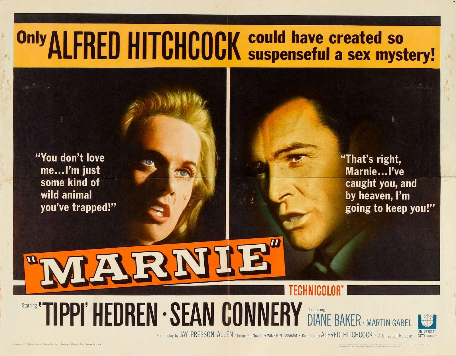 Pas de printemps pour Marnie (Marnie) film américain, du genre suspense-thriller, réalisé par Alfred Hitchcock et sorti sur les écrans en novembre 1964