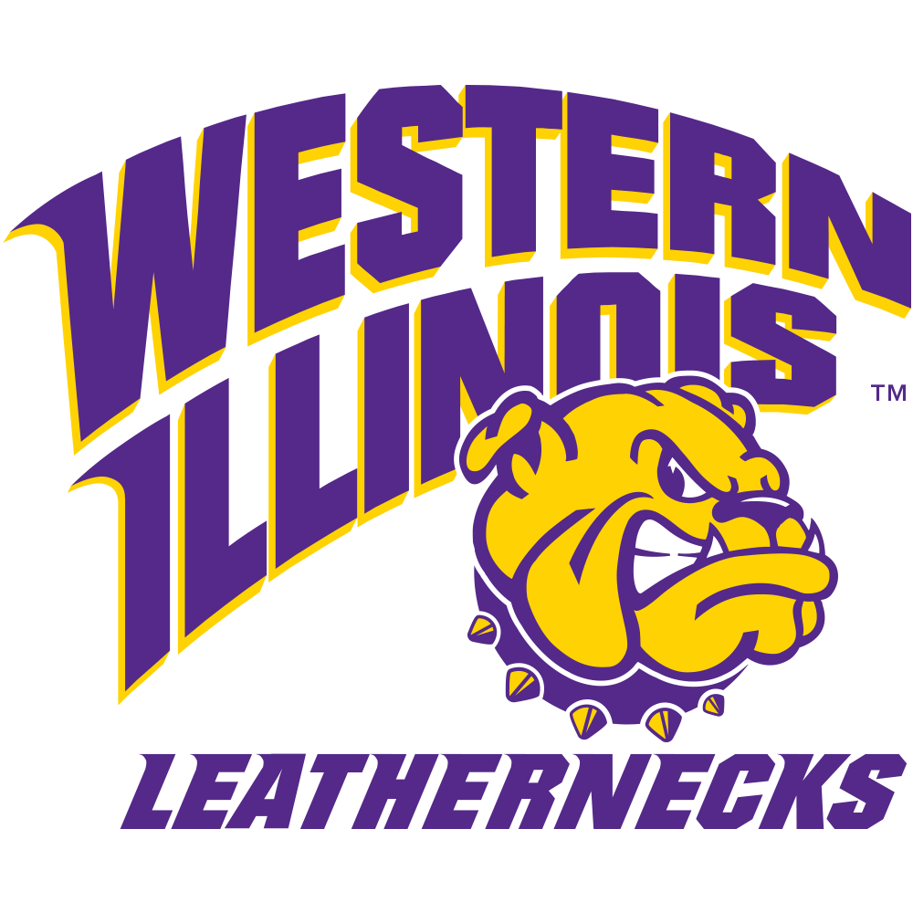 Thin Blue Line Western Illinois Leathernecks Western Illinois University Leathernecks Sports Logo