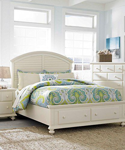 Broyhill Seabrook Panel Storage Bed, California King