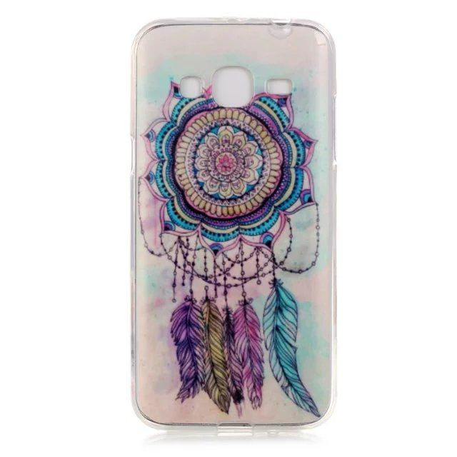 soft Silicon back cover case for Samsung Galaxy J3 painting styles ...