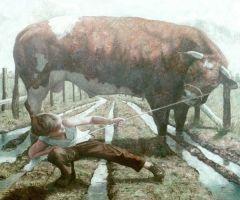 lars met stier by Erik Tierolf