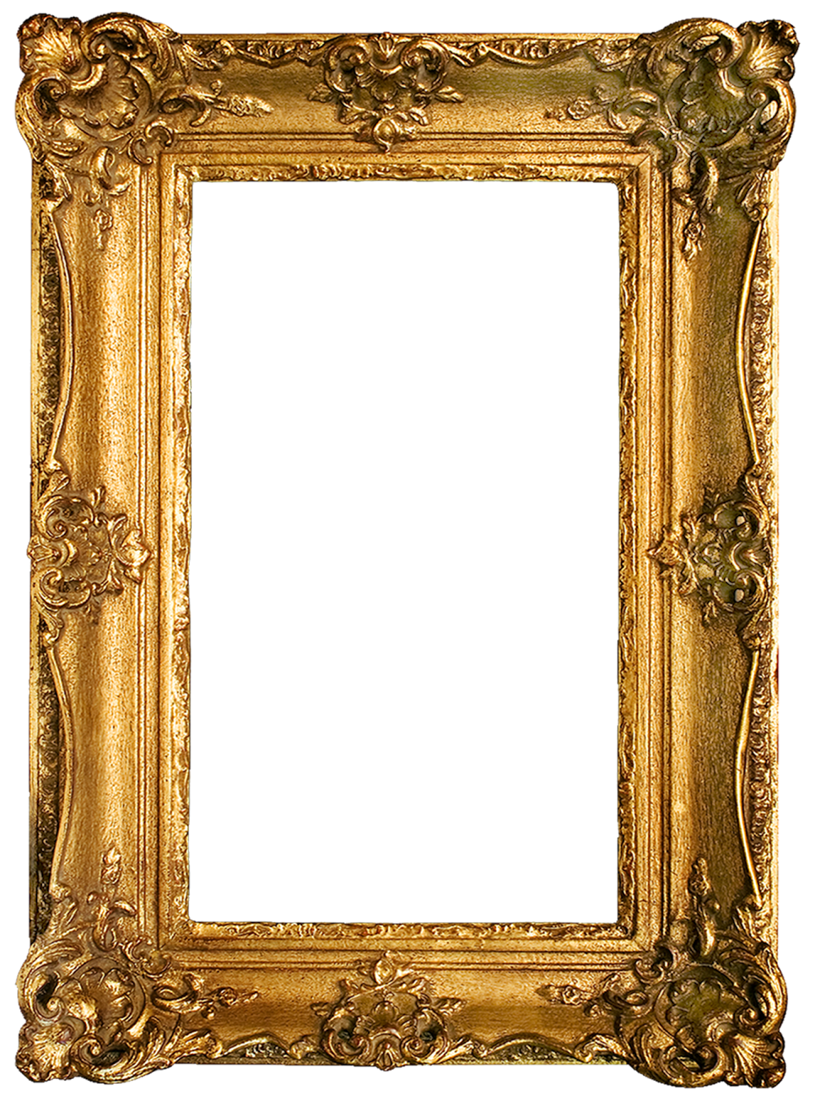 picture relating to Printable Frames titled Typical Gold Gilded Frames Cost-free Printables! My Will save