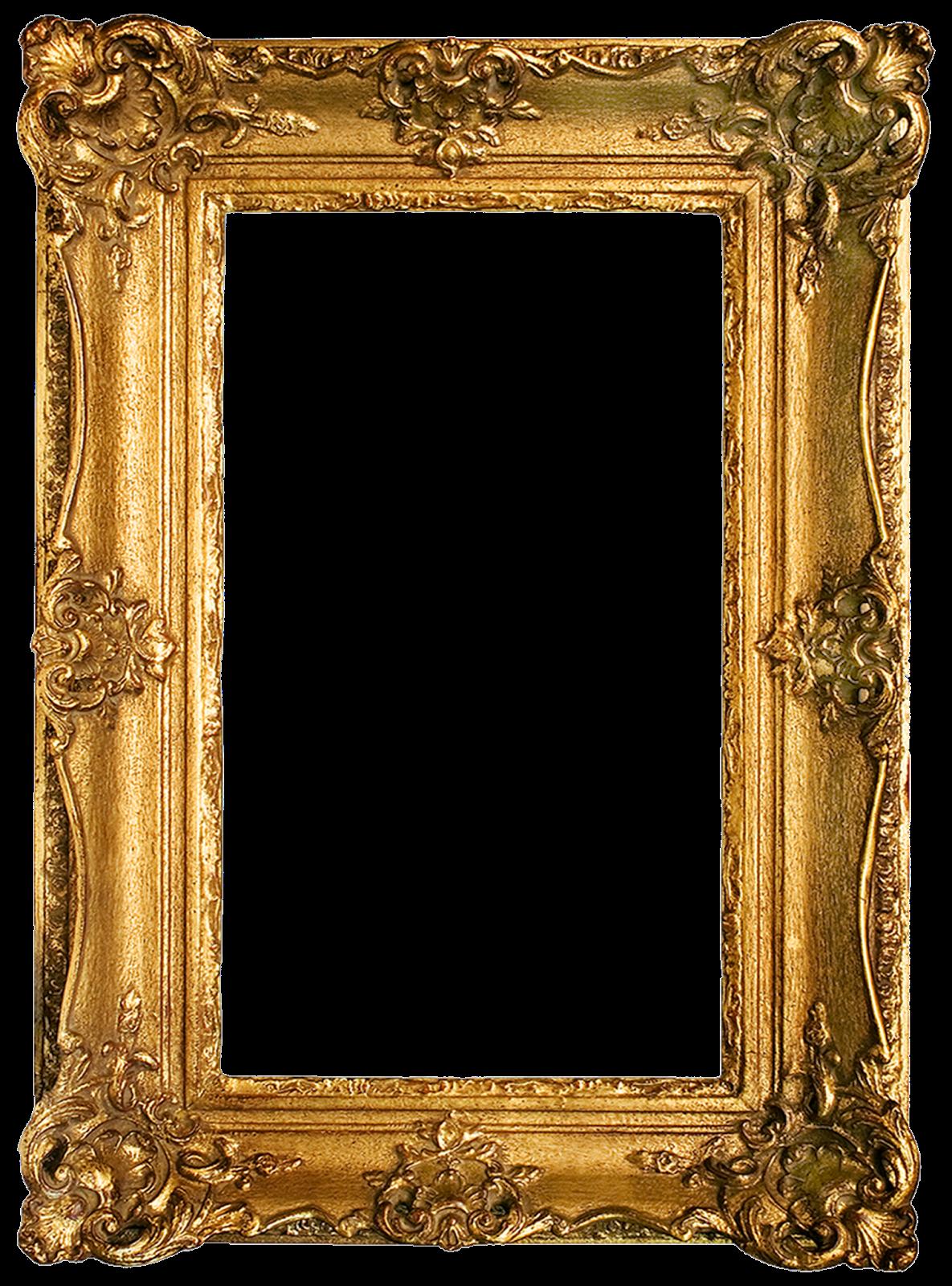 Gold Picture Frame Png : picture, frame, Vintage, Gilded, Frames, Printables!, Antique, Picture, Frames,