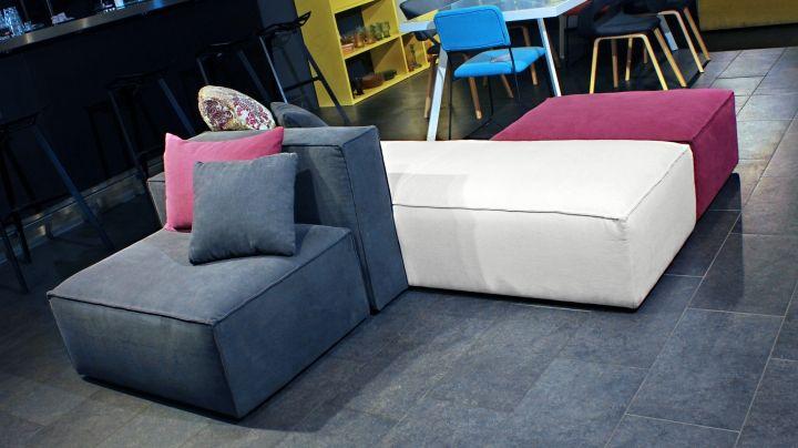 Sofa TOUCH ME Die Wscherei Prsentiert Das Einmalige Modulsofa Touch Me