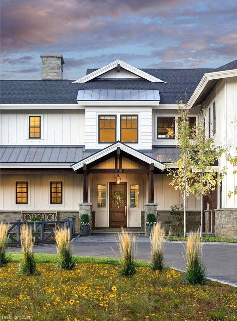 40 Best Rustic Farmhouse Exterior Designs Ideas Modern