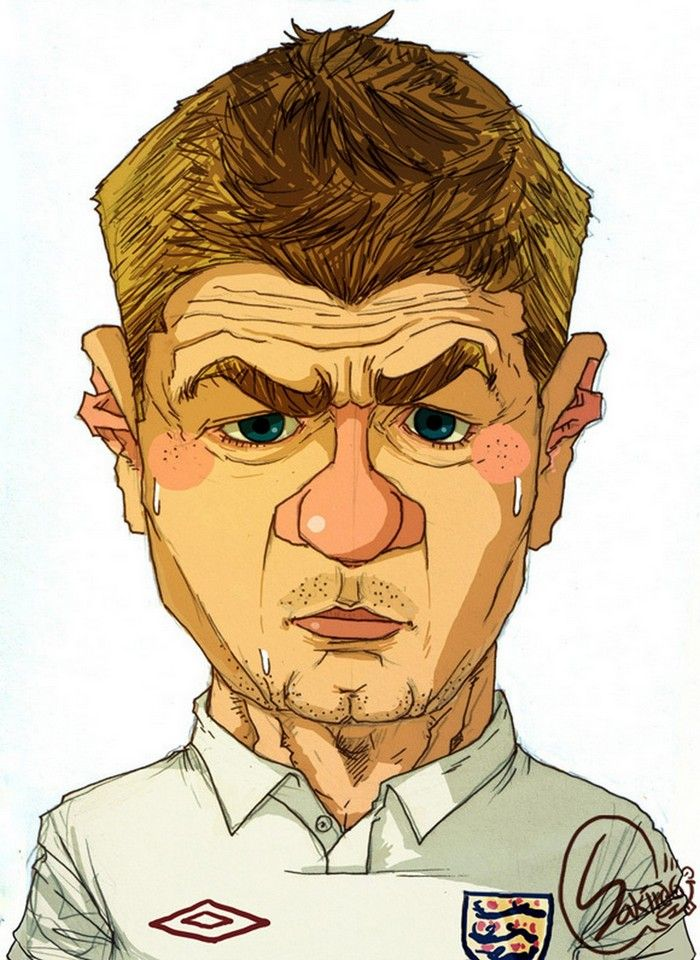 Cartoons Famous Football Players Soccer Players Premier League Soccer Football