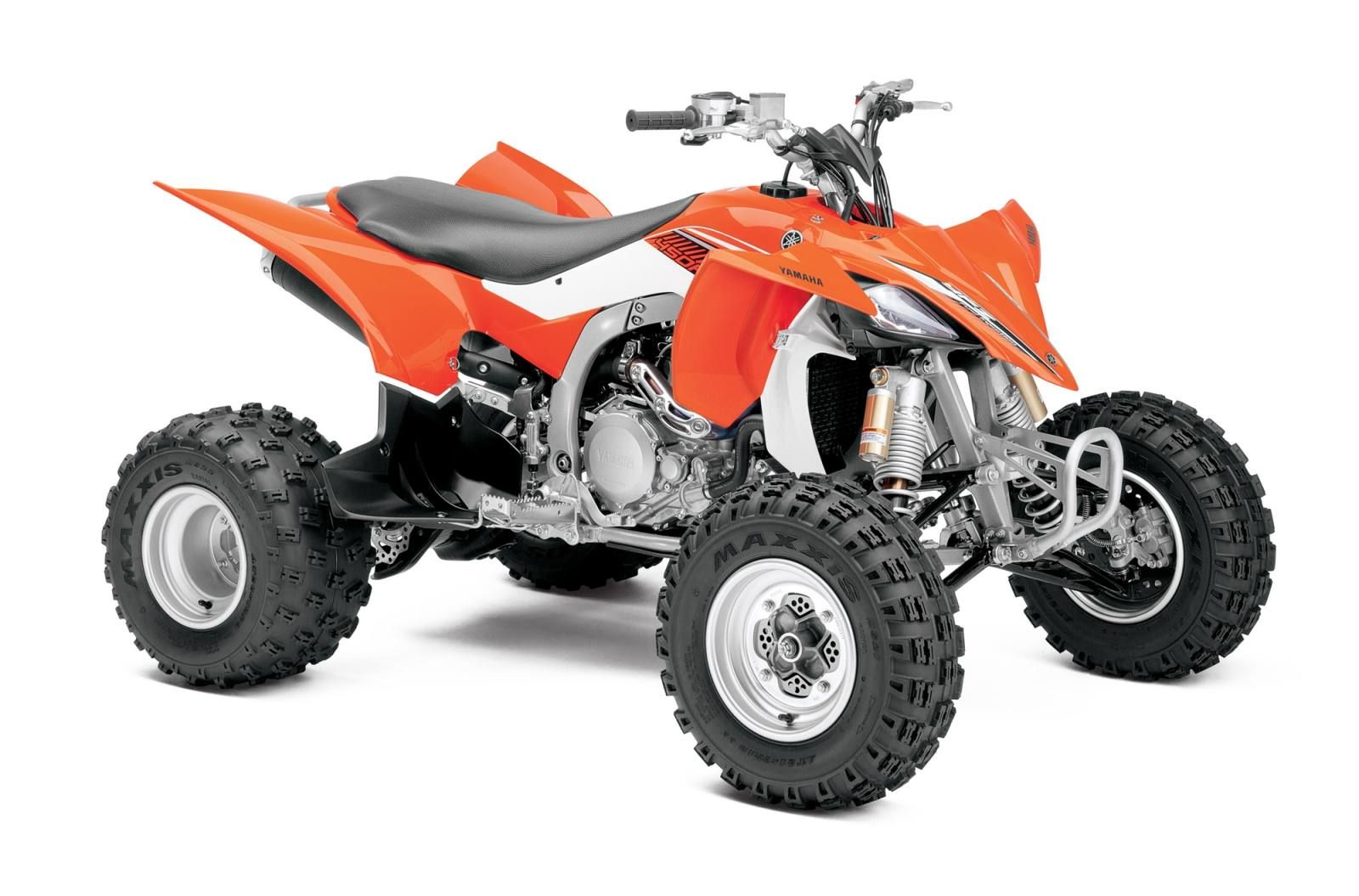The Original And Ultimate Race Ready 450cc Class Sport Atv Wears The Ama Atv Mx Crown And Is Now Assembled In The Usa Atv Yamaha Sport Atv