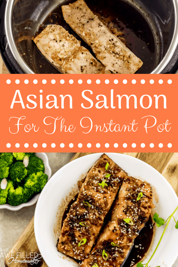 Asian Salmon For The Instant Pot Recipe Asian salmon