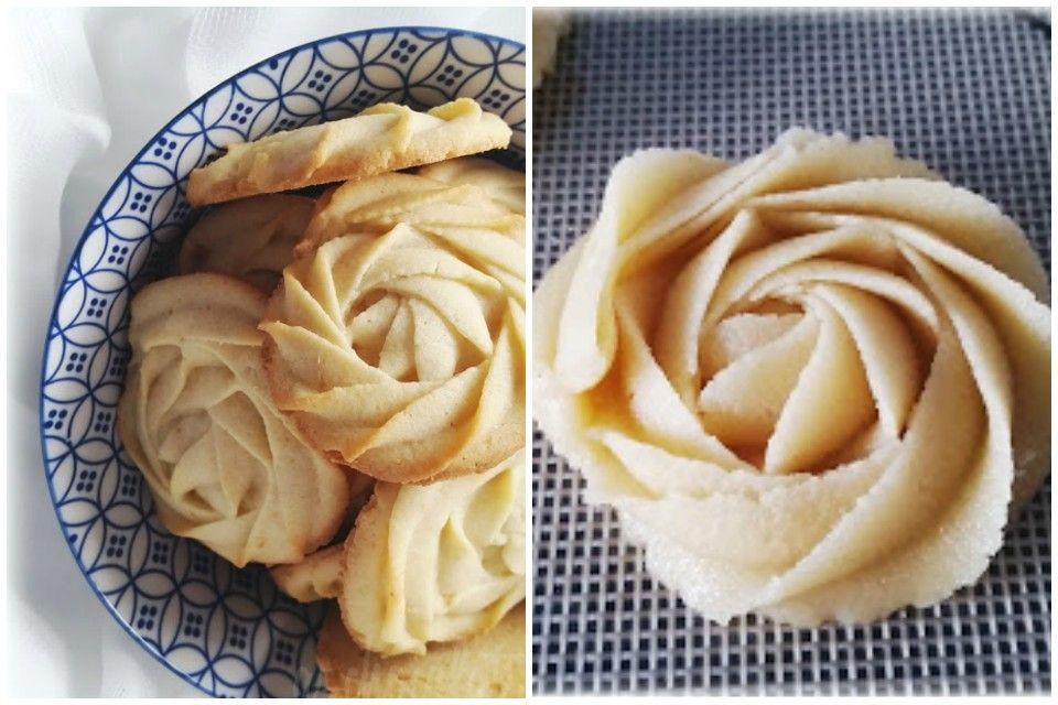 Ricas y delicadas PASTAS de mantequilla con maga pastelera. Mira cómo hacerla