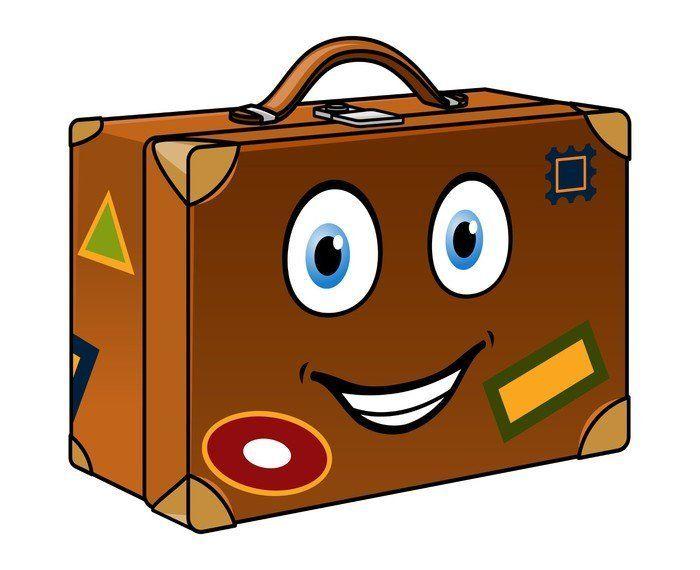 Resultado de imagen de viajero con maleta dibujos