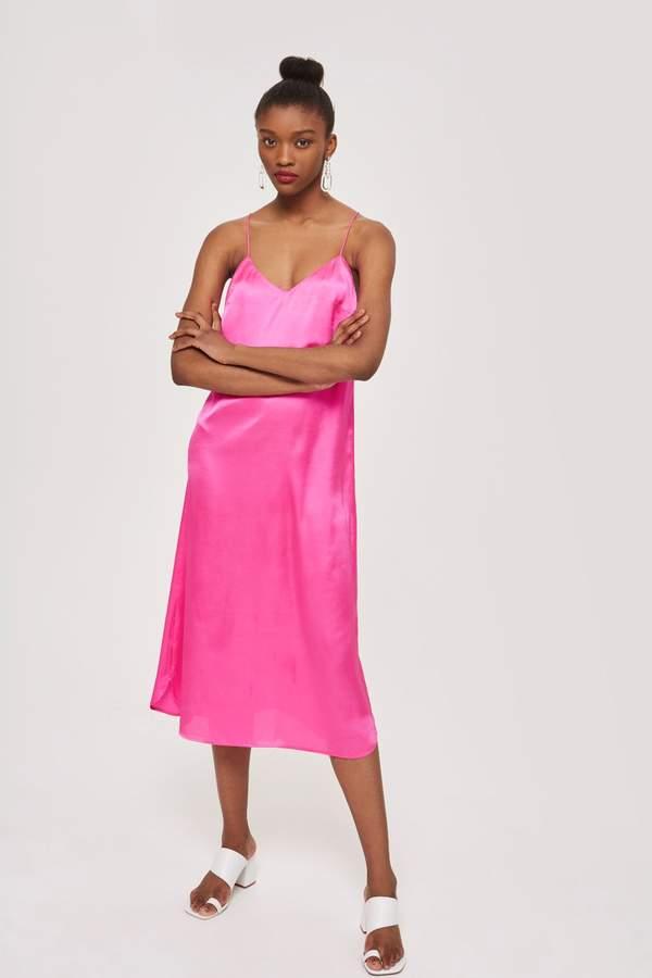 aeb4928efdb8 Satin Slip Dress | Products | Satin slip, Dresses, Satin