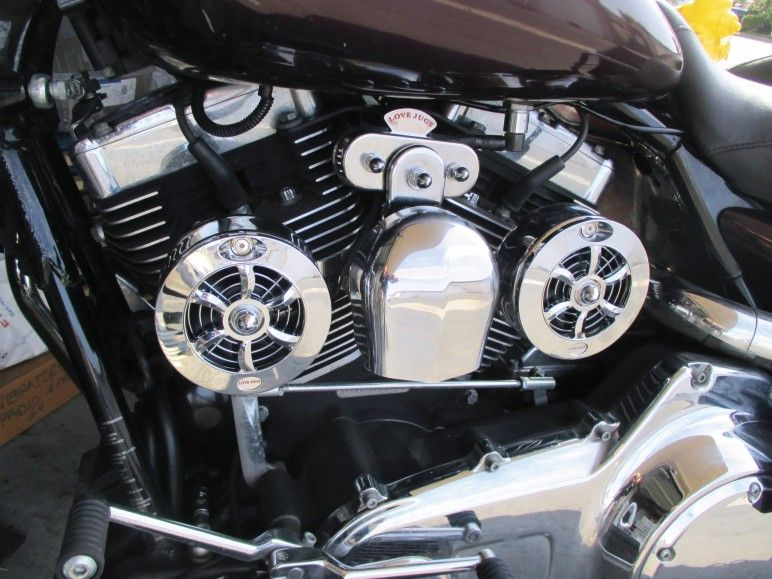 Love Jugs Electric Cooling Fans For Harley Davidson Electric