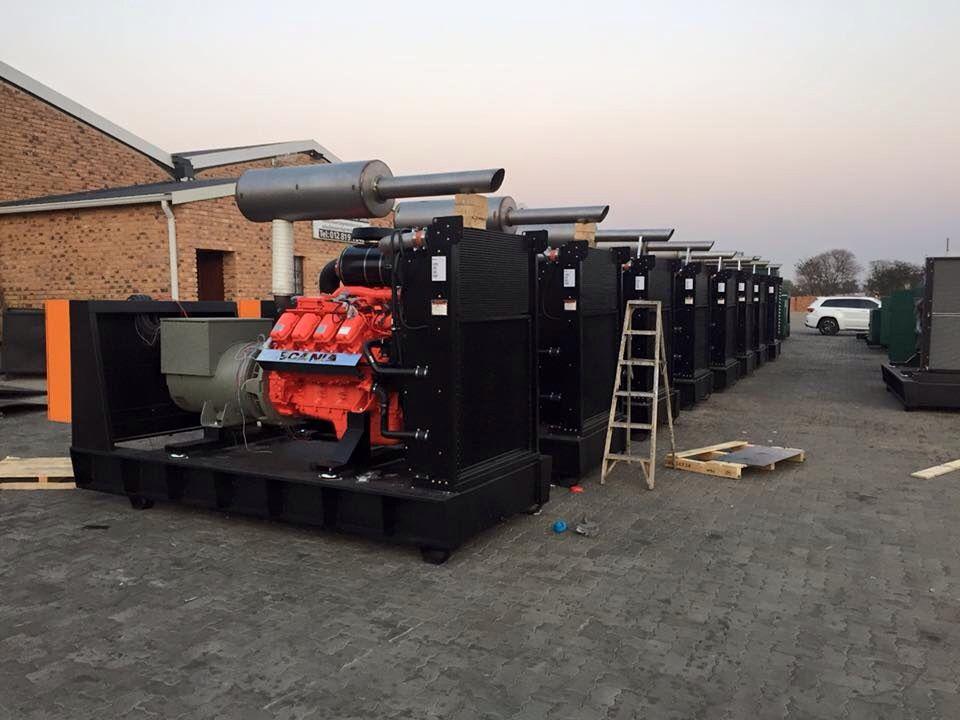 Generator exhaust silencers, custom built  Super silent exhaust
