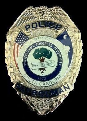 North Charleston Pd Sc North Charleston Badge Police