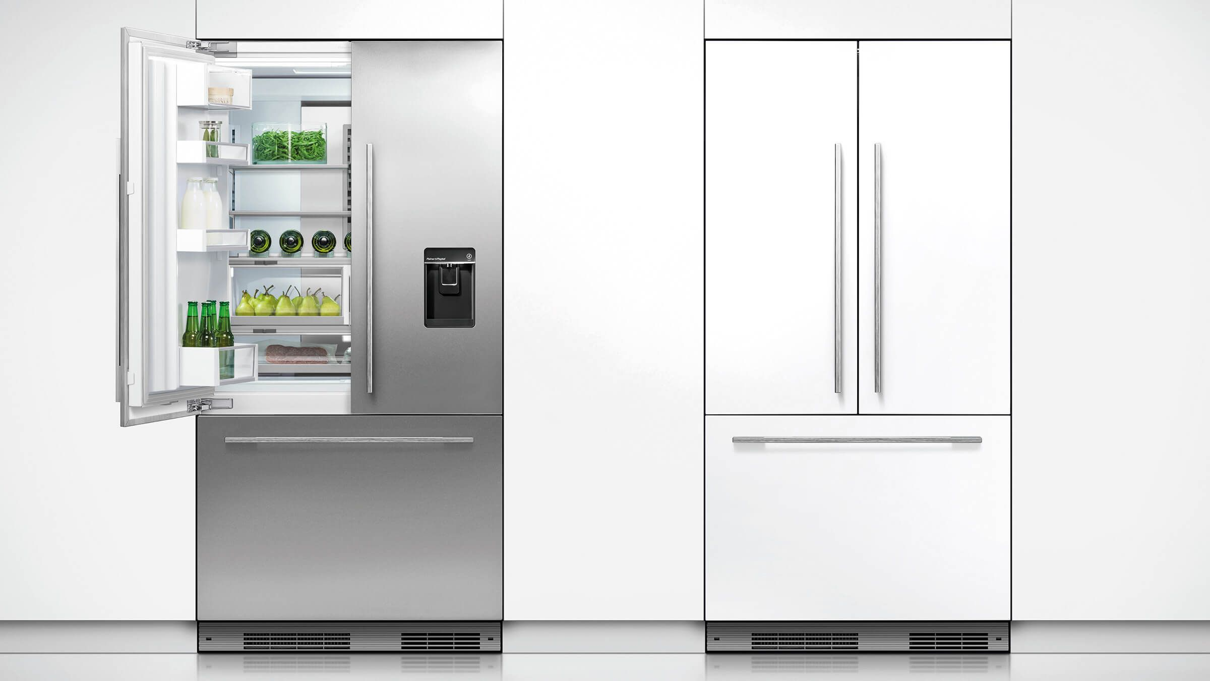 Rs90a1 Fisher Paykel Integrated Fridge