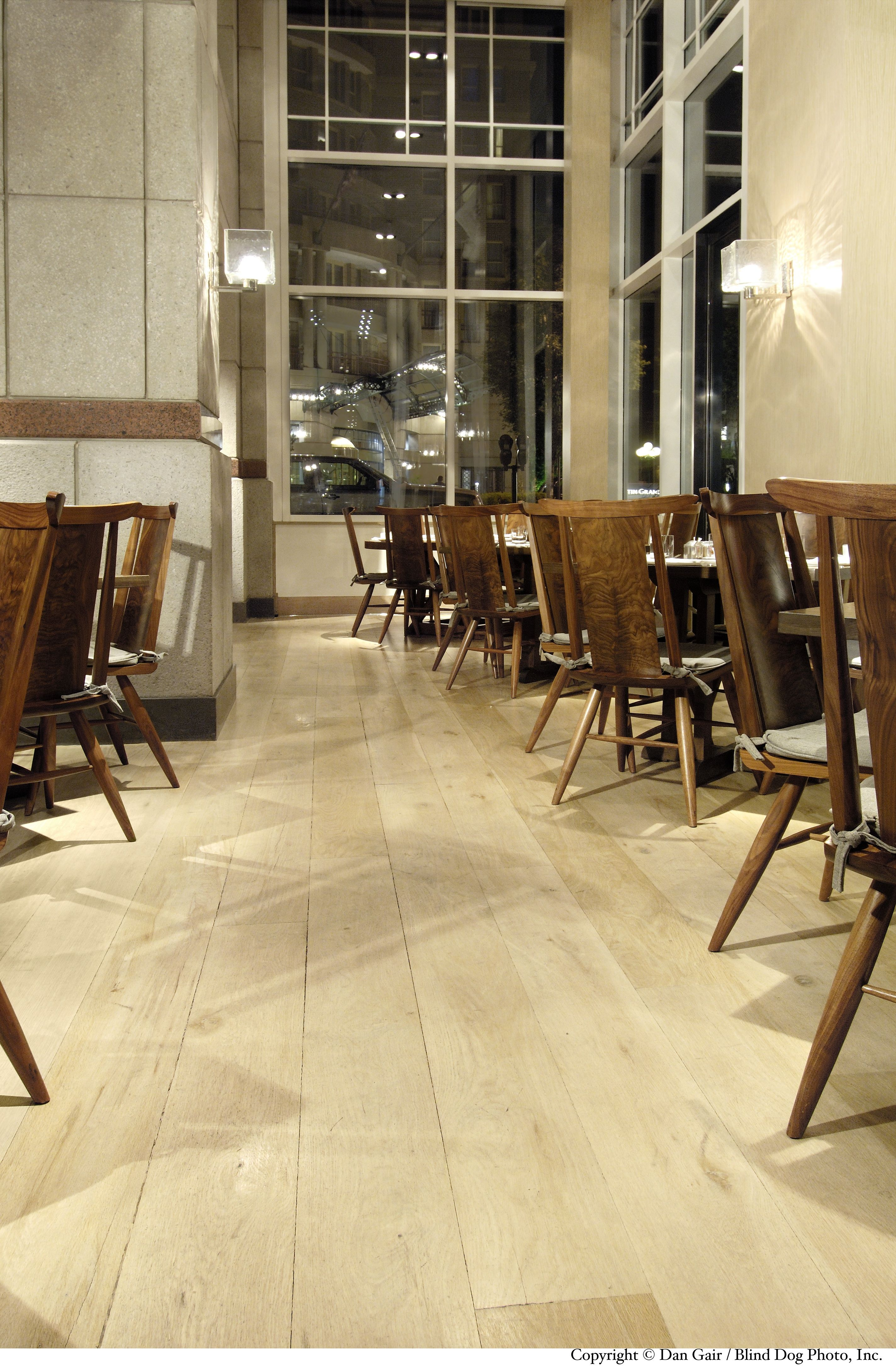 Factor Into Your Restaurant With Carlisle Wide Plank Floorings White