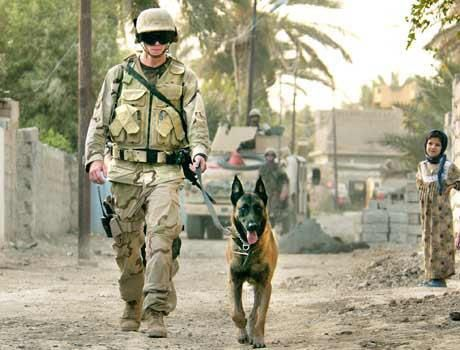 Two Proud Soldier's