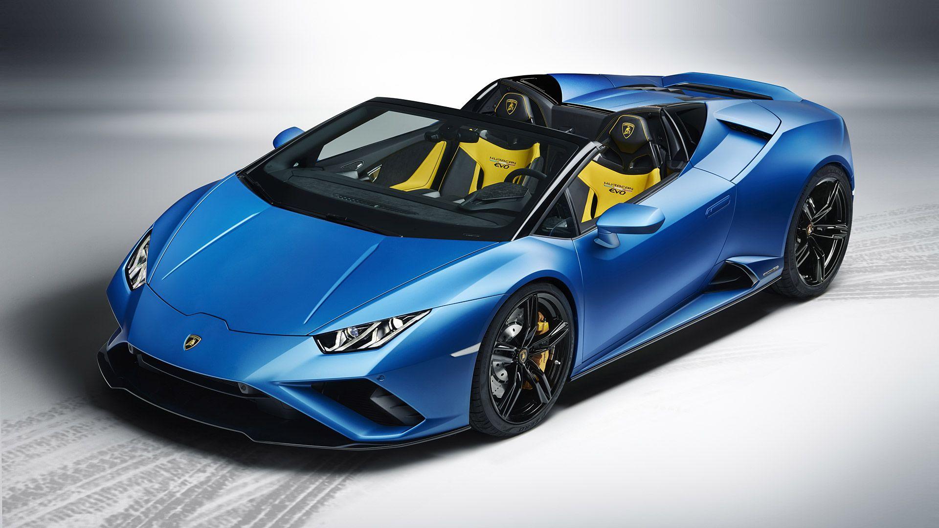 2021 Lamborghini Huracan Evo Rwd Spyder In 2020 Lamborghini Huracan Super Cars Rear Wheel Drive