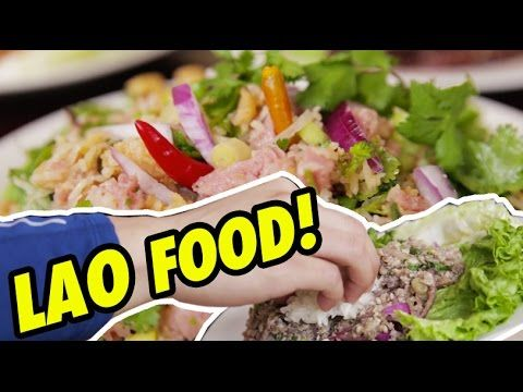 FUNG BROS FOOD: Lao Food! (Laotian Cuisine)