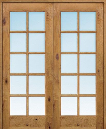 Interior 6 8 10 Lite Tdl Knotty Alder Wood Door French Unit Discount Interior Doors Doors Interior Prehung Interior French Doors