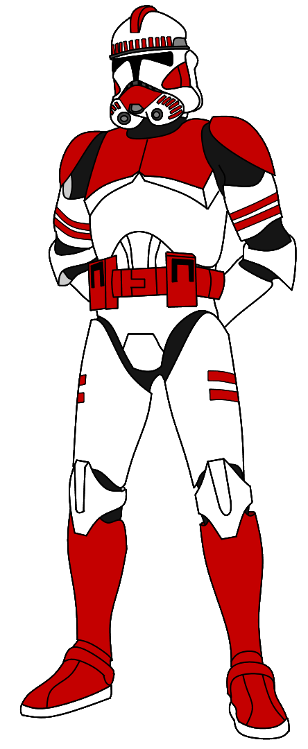 Clone Shock Trooper By Fbombheart Star Wars Clone Wars Trooper Clone