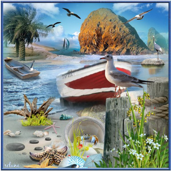 Breeze of Summer - Polyvore