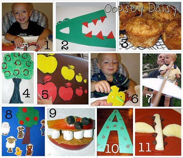 A is for...activities to teach the letter A