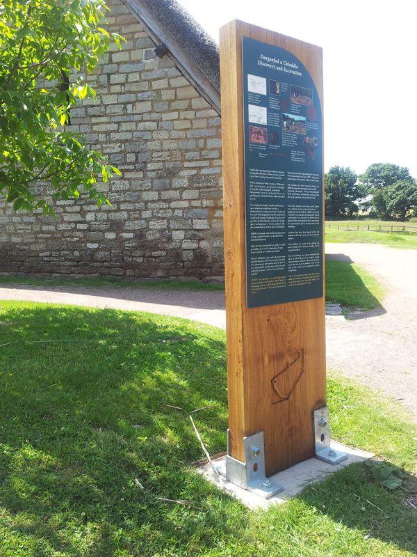 Cosmeston Freestanding Interpretation Panels Exterior