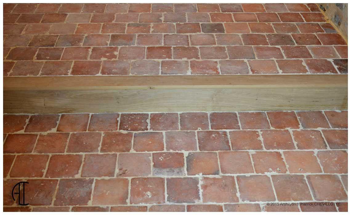 Image par aude challier sur tomettes plancher pose Pose carrelage sur plancher bois