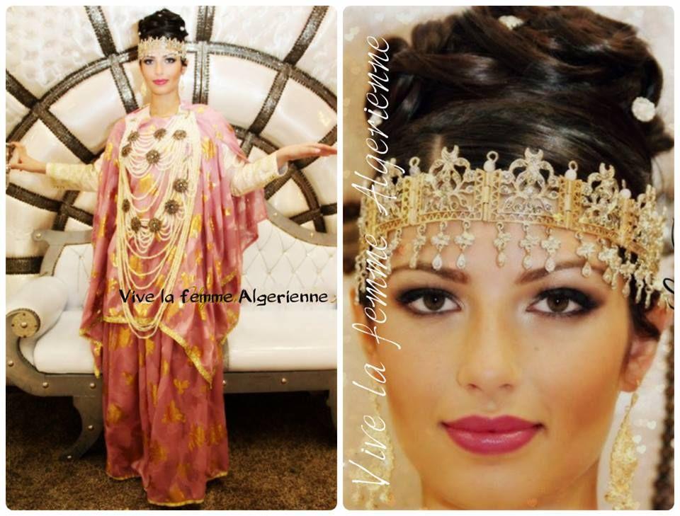 Melahfa Chaoui Traditional Outfits Algerian Clothing Traditional