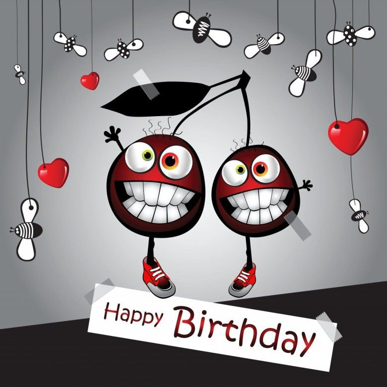 Funny Happy Birthday Cartoon Images, Animated Pictures