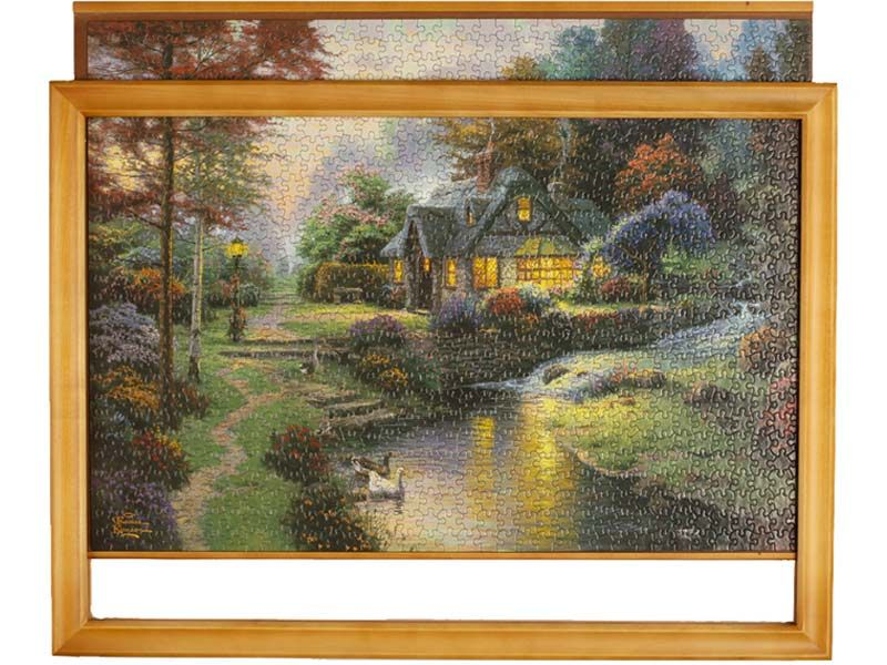 Jigsaw Puzzle Frame Troublefree Framing Puzzle Frame Jigsaw Puzzles Frame