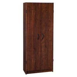 ClosetMaid Pantry Cabinet - Dark Cherry   Pantry cabinet ...