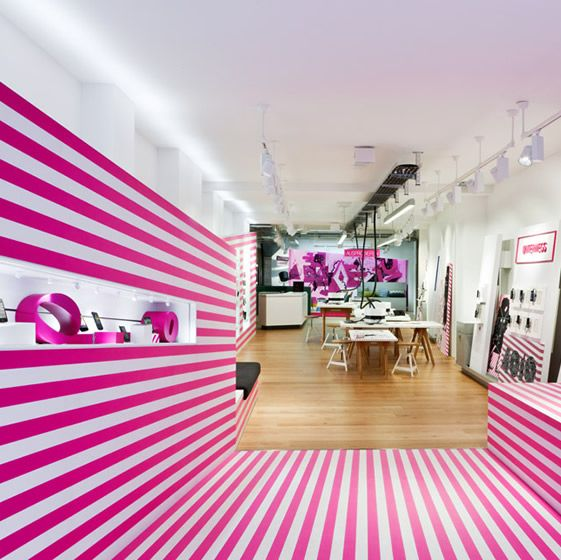 being an interior designer. 4010 Telekom Shop, Cologne ( Being A \u201cplace Of Art, Community, Exchange An Interior Designer