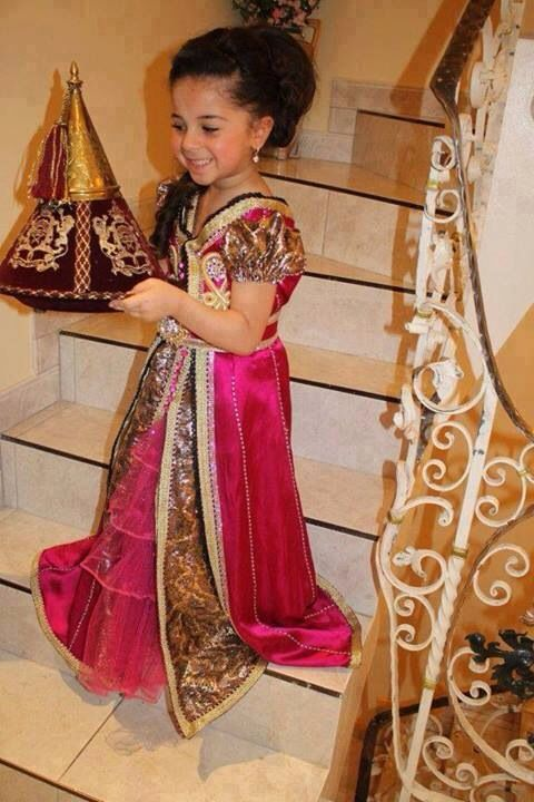 Moroccan Dress for little girls Marokkaanse Kaftan 6c9e5105a4e