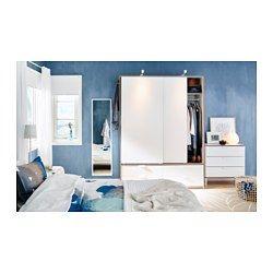 ikea trysil schrank mit schiebet ren 4 schubl. Black Bedroom Furniture Sets. Home Design Ideas